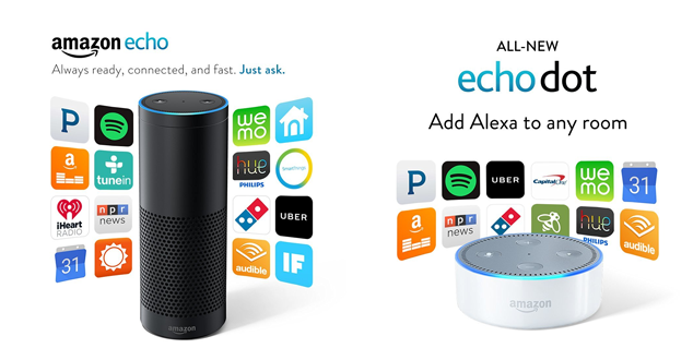 Amazon Echo Updates, September 2016: New Dot, New Colors, New Countries
