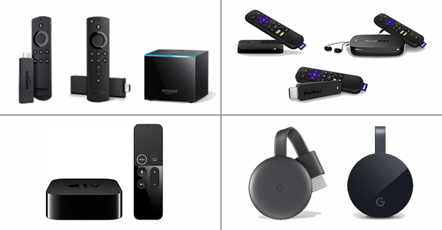 Streaming Media Players: A Comparison Chart